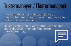 Rollenkarte Fluestermanager